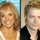 Katie Couric and Chris Botti
