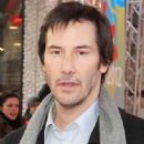 Keanu Reeves arrives at Budapest Airport.( February 28, 2011)