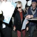 Michelle Williams at LAX International Airport in Los Angeles - 454 x 681