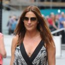 Lisa Snowdon Out and About In London