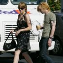 Mandy Moore With Rocker Ryan Adams After Leaving Her Home In Los Angeles, 2008-05-15