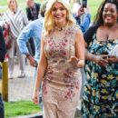 Holly Willoughby Arrives at This Morning Live in Birmingham - 454 x 789