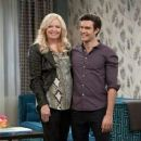 Melissa Peterman and Peter Porte