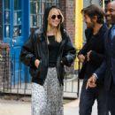 Suki Waterhouse and Diego Luna out in Manhattan