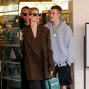 Hailey Baldwin – Leaves Barnes and Noble with Justin Bieber in LA