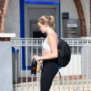 Ava Phillippe – Heads to the gym in Brentwood - 454 x 681