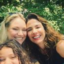 Fabiana Saba with her daughter Rebecca and Luciana Gimenez - Central Park - NYC - 2016