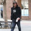 Keanu Reeves Steps Out in NYC