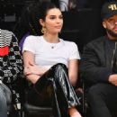Kendall Jenner – Los Angeles Lakers and the Philadelphia 76ers Game in Los Angeles