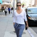 Eva Longoria Leaving Anastasia Spa in Beverly Hills - 454 x 649