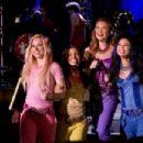 Skyler Shaye as Cloe, Logan Browning as Sasha, Nathalia Ramos as Yasmin and Janel Parrish as Jade in Lions Gate Films' Bratz: The Movie - 2007