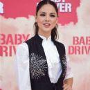 Eiza Gonzalez – 'Baby Driver' Photocall in Madrid - 454 x 680