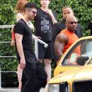 Joe Jonas was spotted at Equinox gym in Miami, February 18