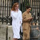 Alexina Graham and Luma Grohte – L'Oreal Photoshoot in Paris - 454 x 637
