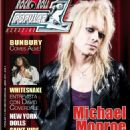 Michael Monroe - Popular 1 Magazine Cover [Spain] (April 2011)