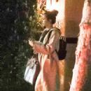 Nina Dobrev – Leaves a house in Beverly Hills