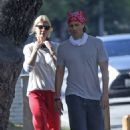 Gwyneth Paltrow – Steps out for a walk in Brentwood