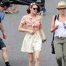 Kristen Stewart Filming New Woody Allen Movie In La