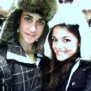 David Henrie and Lucy Hale