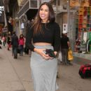 Jordin Sparks At Times Square In Nyc