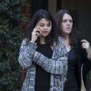 Selena Gomez Leaving Mr Chow Restaurant in Beverly Hills January 15, 2015
