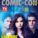 Paul Wesley, Ian Somerhalder, Nina Dobrev, The Vampire Diaries - Comic-Con Magazine Cover [United States] (1 September 2014)
