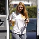 "Blake Lively: Puppy Love on the ""Savages"" Set"