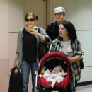 Amy Adams - Arrive Into LAX Airport - September 11, 2010