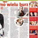 Anne Buydens Douglas and Kirk Douglas - Tele Tydzień Magazine Pictorial [Poland] (20 July 2018) - 454 x 642