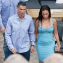 Georgina Rodriguez and Cristiano Ronaldo out in Malaga - 454 x 338