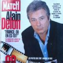 Alain Delon - Paris Match Magazine Cover [France] (January 1998)