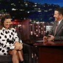Mandy Moore – Visits Jimmy Kimmel Live! in Hollywood