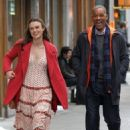 Keira Knightley film scenes for the upcoming movie 'Collateral Beauty' in New York City, New York on April 1, 2016 - 454 x 521