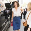 Katie Holmes – Attending the 'Perksicle Tour' Event in NY