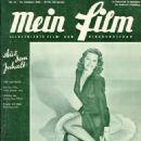 Cyd Charisse - Mein Film Magazine Cover [Austria] (22 October 1948)