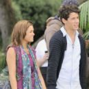 Nicole Anderson and Nick Jonas