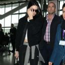 Kendall Jenner At London Heathrow Airport