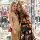 Amanda Seyfried and Emma Roberts at Fendi celebrates Baguette in NYC - 454 x 681