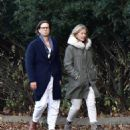 Gwyneth Paltrow – With husband Brad Falchuk in the Hamptons