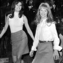 Raquel Welch and Julie Christie