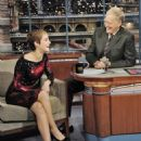 Emma Watson - 'Late Show With David Letterman' at the Ed Sullivan Theater on November 15, 2010 in New York City