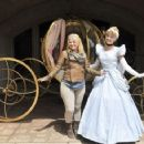Kelly Clarkson, who meets up with Cinderella during a trip to Disneyland Paris on June 17, 2013 - 454 x 358