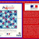 "GREAT MEMORIES... HOLLYWOOD PAINTER METIN BEREKETLI SELECTED OFFICIAL ARTIST OF ""FRENCH BASTILLE DAY"" IN LOS ANGELES, CALIFORNIA ~ 2003"