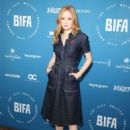 Ellie Bamber – British Independent Film Award Nominations Photocall in London - 454 x 666