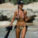 Lady Victoria Hervey in Bikini on the beach in Barbados - 454 x 681