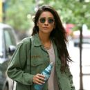 Shay Mitchell in Tights – Out in New York