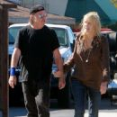 Daryl Hannah looked loved up with Neil Young as they headed to a restaurant in Westlake, California, on Tuesday September 9, 2014 - 454 x 620