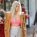 Kim Kardashian at XO Bloom Flower Shop in Calabasas