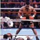 Michael Spinks KO'd By Mike Tyson  In 1st Round 6-27-88 - 454 x 532