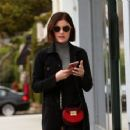 Lucy Hale running errands in Los Angeles, California on February 21, 2017 - 454 x 354